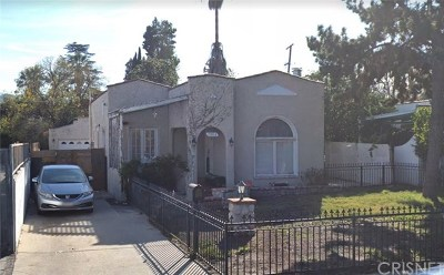 Toluca Lake Single Family Home Active Under Contract: 11014 Blix Street
