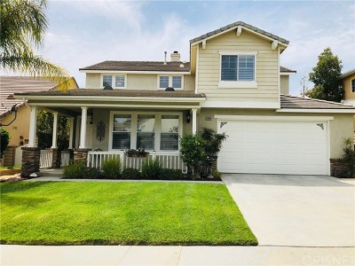 Saugus Single Family Home For Sale: 28939 High Sierra Trail