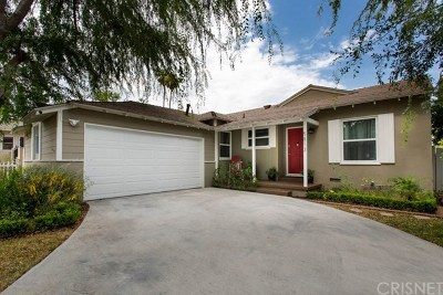 Tarzana Single Family Home For Sale: 5813 Vanalden Avenue