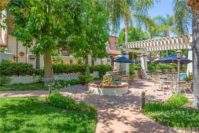 Woodland Hills Condo/Townhouse Active Under Contract: 22271 Erwin Street