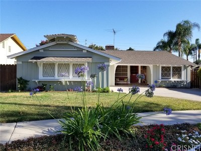 North Hills Single Family Home For Sale: 16640 Calahan Street