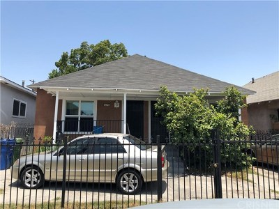 Los Angeles Multi Family Home For Sale: 675 E 53rd Street