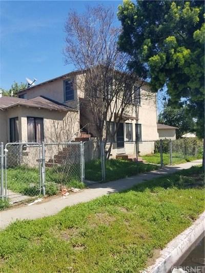 Lake Balboa Multi Family Home For Sale: 15733 Victory Boulevard