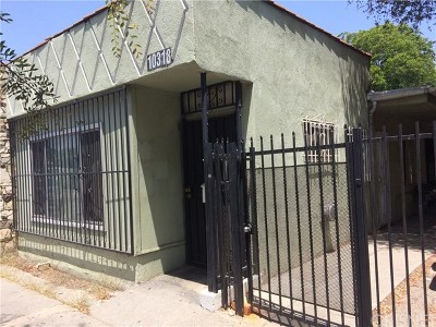 Los Angeles Multi Family Home For Sale: 10318 S San Pedro Street