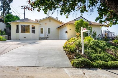 Burbank CA Single Family Home For Sale: $1,449,000