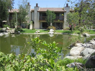 Woodland Hills Condo/Townhouse For Sale: 21555 Burbank Boulevard #66