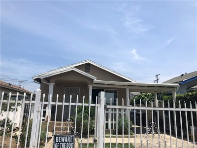 Los Angeles Single Family Home For Sale: 1733 W 37th Place