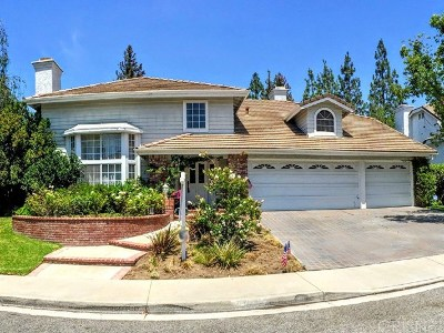 Agoura Hills Single Family Home For Sale: 5643 Middle Crest Drive