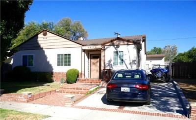 Encino Single Family Home For Sale: 5856 Alonzo Avenue