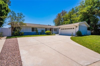 Woodland Hills Single Family Home For Sale: 5545 Ostin Avenue