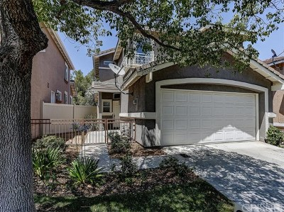 Castaic Single Family Home For Sale: 27721 Morning Glory Place