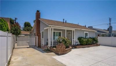Lake Balboa Single Family Home For Sale: 6418 Whitman Avenue