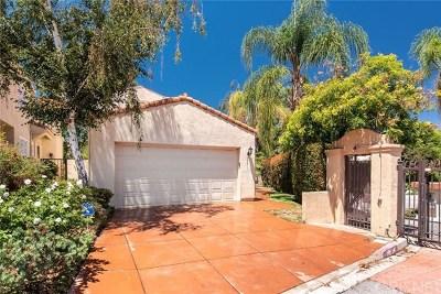 Calabasas Single Family Home For Sale: 4351 Park Arroyo #25