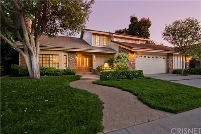 Encino Single Family Home For Sale: 17718 Royce Drive W