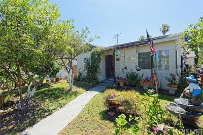 North Hollywood Single Family Home For Sale: 5761 Vineland Avenue