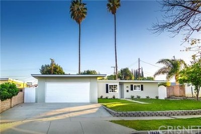 Chatsworth Single Family Home For Sale: 20430 Marilla Street