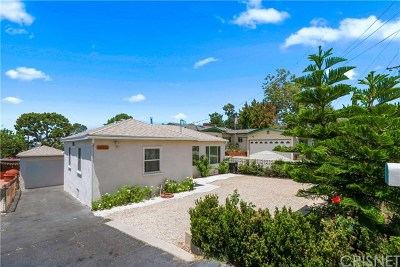 Tujunga Single Family Home For Sale: 10351 Fernglen Avenue