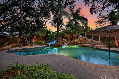Chatsworth Single Family Home For Sale: 9518 Hunt Club Lane