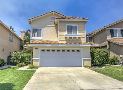Stevenson Ranch Single Family Home Active Under Contract: 25457 Fitzgerald Avenue