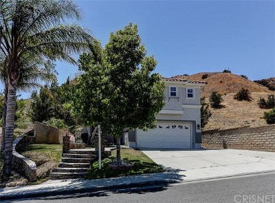 Castaic Single Family Home For Sale: 29865 Berkshire Place