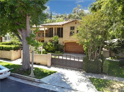 Sherman Oaks Single Family Home For Sale: 4019 Ventura Canyon Avenue