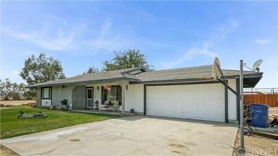 Antelope Acres Single Family Home For Sale: 51515 77th Street W