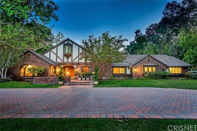 Hidden Hills Single Family Home For Sale: 24284 Bridle Trail Road