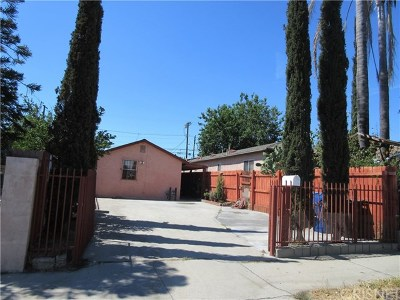 Pacoima Single Family Home For Sale: 13173 Judd Street