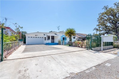 North Hollywood Single Family Home For Sale: 6016 Fulcher Avenue