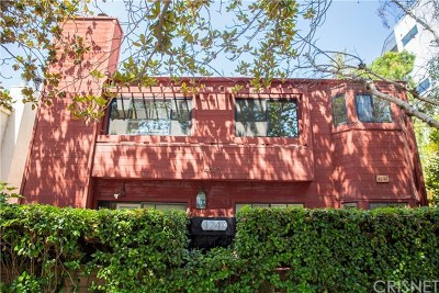 Studio City Condo/Townhouse For Sale: 4247 Whitsett Avenue #2