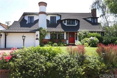 Toluca Lake Single Family Home For Sale: 4440 Placidia Avenue