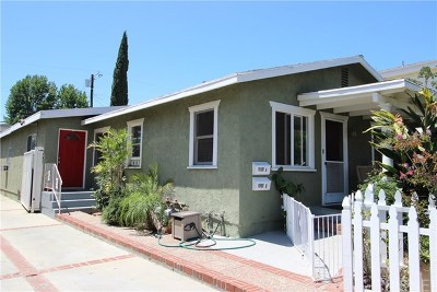 North Hollywood Multi Family Home For Sale: 10908 Hesby Street