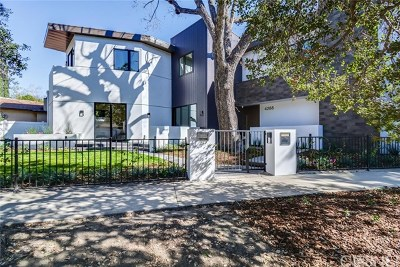 Studio City Single Family Home For Sale: 4288 Bakman Avenue