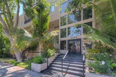 Sherman Oaks Condo/Townhouse For Sale: 4477 Woodman Avenue #206