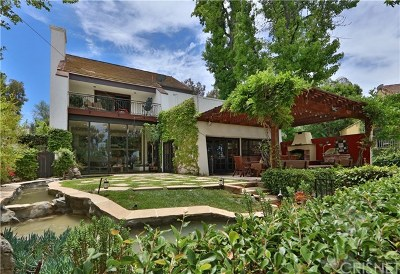 Calabasas Single Family Home For Sale: 4507 Park Verona