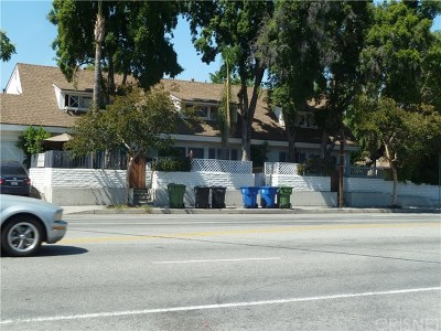 North Hollywood Multi Family Home For Sale: 11667 Burbank Boulevard