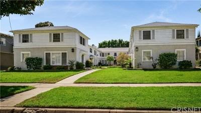 Sherman Oaks Condo/Townhouse For Sale: 15214 Dickens Street