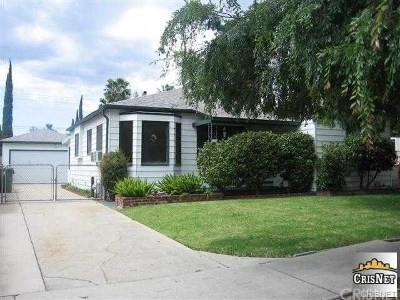 North Hollywood Single Family Home For Sale: 6457 Teesdale Avenue
