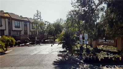 Lakeview Terrace Condo/Townhouse For Sale: 11300 Foothill Boulevard #41