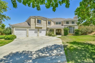 Palmdale Single Family Home For Sale: 41108 Heights Drive