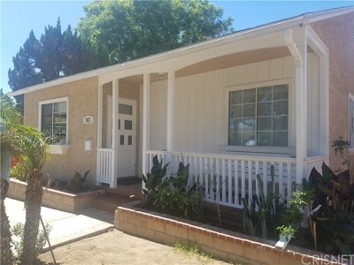Van Nuys Single Family Home For Sale: 7427 Blewett