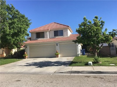 Palmdale, Lancaster, Quartz Hill, Antelope Acres, Rosamond, Leona Valley, Green Valley, Lake Elizabeth, Pearblossom, Littlerock, Juniper Hills, Llano, Lake Los Angeles, Wrightwood Single Family Home For Sale: 1738 Michael Drive