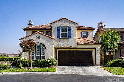 Stevenson Ranch Single Family Home For Sale: 25225 Favoloso Court