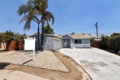 Panorama City Single Family Home For Sale: 8060 Matilija Avenue