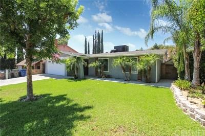 Saugus Single Family Home For Sale: 28237 Newbird Drive