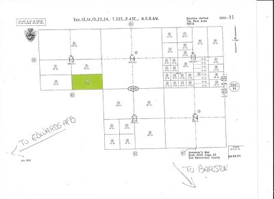 Barstow CA Residential Lots & Land For Sale: $149,900