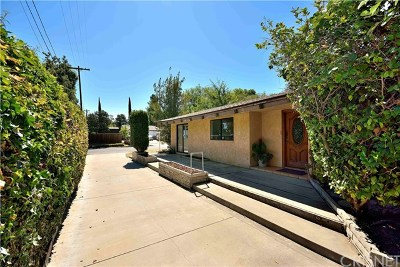Woodland Hills Single Family Home Active Under Contract: 5651 Ponce Avenue
