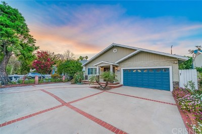 Valley Village CA Single Family Home For Sale: $975,000
