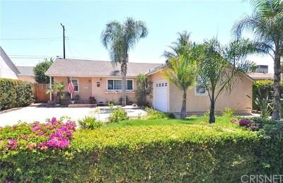 Lake Balboa Single Family Home For Sale: 7316 Wish Avenue