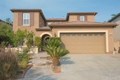 Valencia Single Family Home For Sale: 28161 Graciosa Street